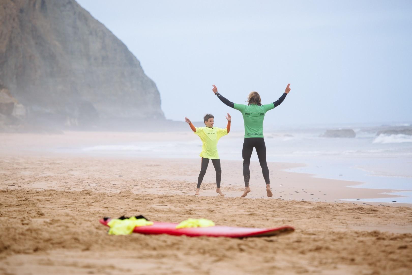 Privatunterricht/Surfguiding